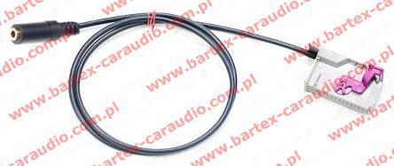 AUDI 2003-> radio fabryczne z RNS-E - AUX-In/Jack-gniazdo