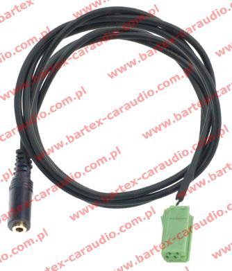 RENAULT 2005-> radio fabryczne 6Pin - AUX-In/Jack-gniazdo