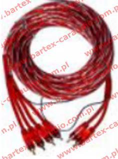 Przewód RCA-Chinch NECOM NE61R 2+4wtyki