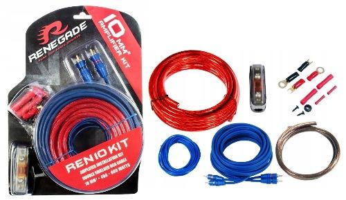 Zestaw przewodów instalacyjnych Renegade 10mm2