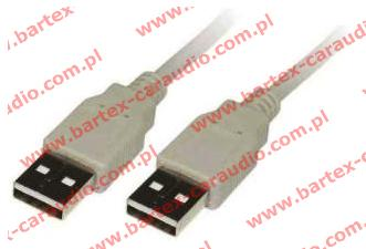 Adapter USB-wtyk <-> USB-wtyk +kabel 100cm