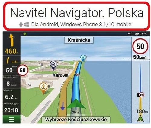 NAVITEL PL (mapa Polski dla ANDROID)