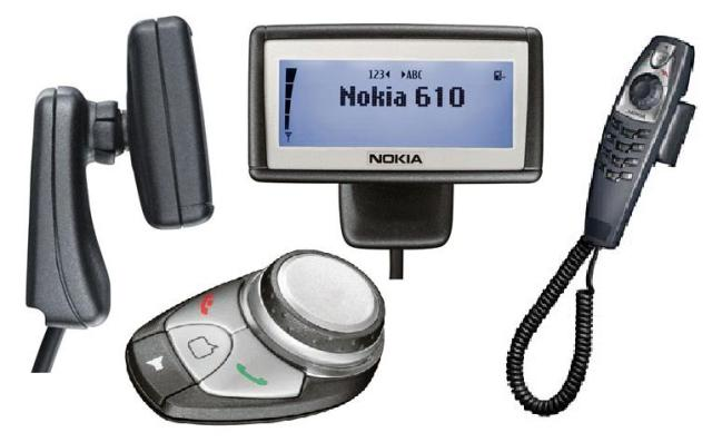 NOKIA 610 Car Kit Phone + HSU-4
