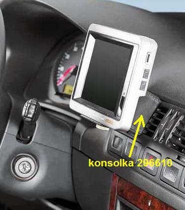 KUDA -konsola do VW Bora + Golf-4 for:GPS