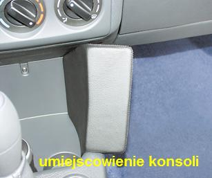 KUDA -konsola do CITROEN-a Berlingo-2