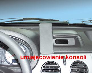 KUDA -konsola do RENAULT- Kangoo for:GPS