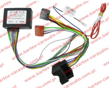 Z��cze do AUDI 2004-> Konwerter do Activ System Full-BOSE