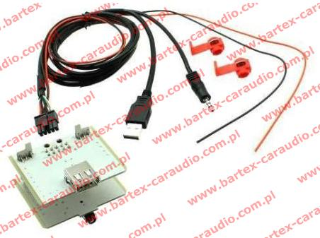 Złącze do FIAT 500L 2012-> port USB+AUX