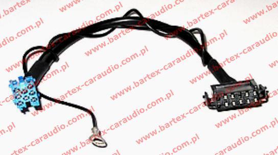 Adapter-Złącze Kabel do zmieniarki CD VW <-> VW-ISO_8Pin