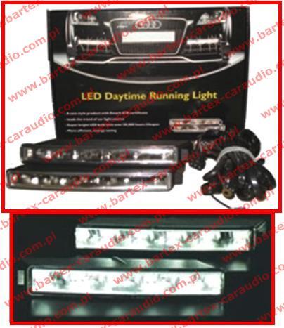 Światła do jazdy dziennej LED H005