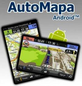 AutoMapa EU (mapa Europy dla Android)