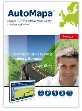 AutoMapa EU (mapa Europy dla Windows)