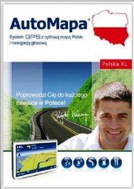 AutoMapa XL (mapa Polski dla Windows)