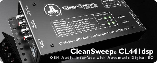 JL Audio procesor CleanSweep® CL441dsp