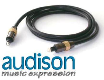 audison OP 1.5 • TOSLINK Optical Cable