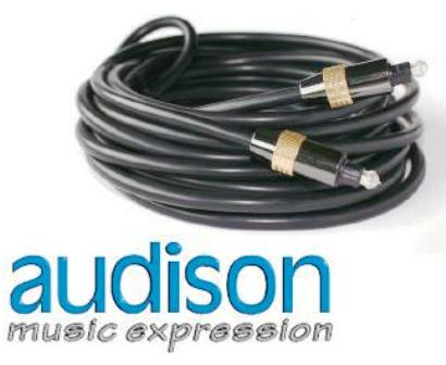 audison OP 4.5 • TOSLINK Optical Cable