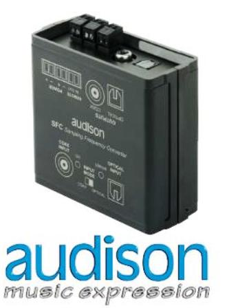 audison SFC - SAMPLING FREQUENCY CONVERTER