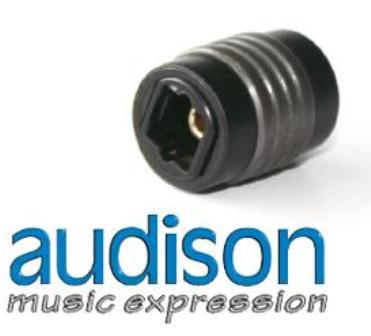 audison STA • F/F Socket TOSLINK adapter